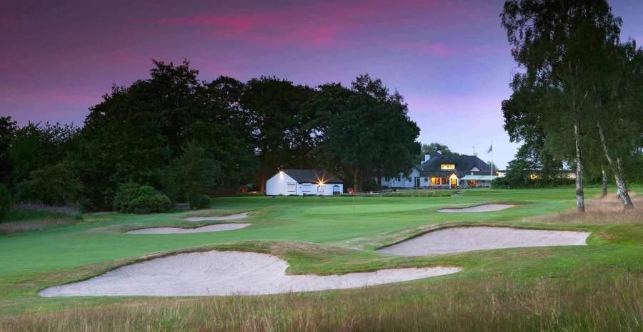 Longcliffe Golf Club  – Hole 18 (photo courtesy of Lightworks)